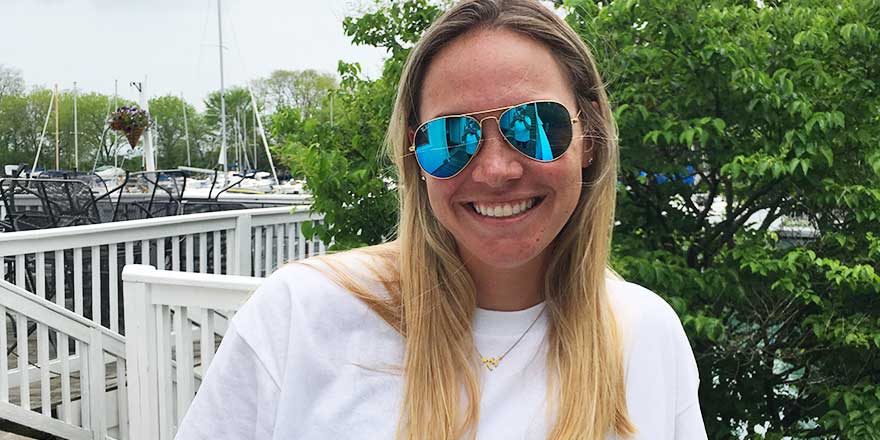 Katie Traub, Wilmette Harbor Club Harbor Master