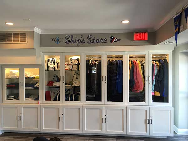 The new Ship's Store at Wilmette Harbor