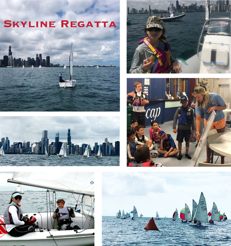 Skyline Regatta hosted by Columbia Yacht Club Chicago