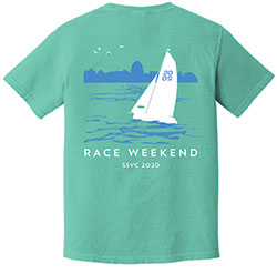 2020 Sheridan Shore Yacht Club Race Week T-shirt
